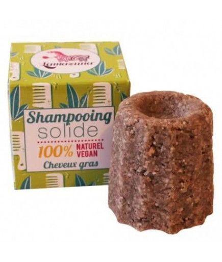 Shampoing solide cheveux gras - Litsée citronnée - Lamazuna