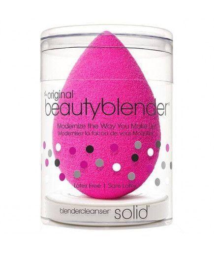 Kit éponge maquillage teint Original + Nettoyant solide Blender Cleanser - Beauty Blender