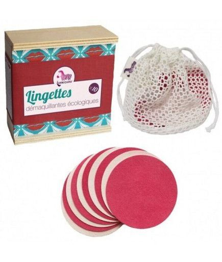 Washable make-up removing wipes - Green Innovation