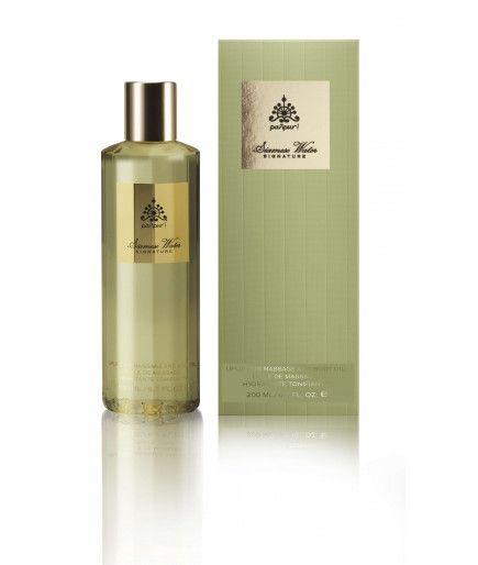 Huile de massage Hydratante Tonifiante - Siamese Water Jasmin et Menthe - PAÑPURI