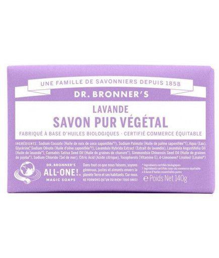 Pain de savon - Lavande - Dr Bronner