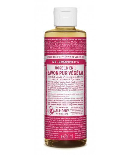 Savon Liquide - Rose - Dr Bronner
