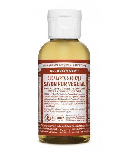 Jabón líquido, Jabón de Castilla - Eucalipto Dr. Bronner's