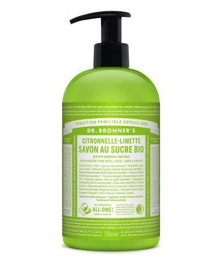 Jabón líquido Shikakai - Menta-355 mL - Dr Bronner