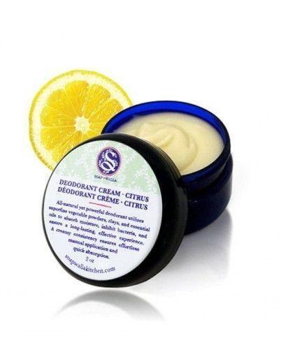 Desodorante natural crema de limón - SoapWalla
