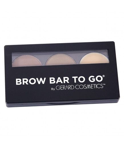 Kit-Augenbrauen - Brow Bar To Go-Kit Medium Braun - Gerard Cosmetics