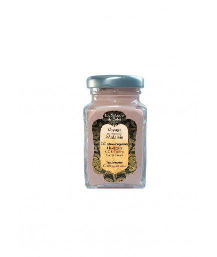 CC Crème énergisante à la carotte - Peaux mixtes - La Sultane de Saba