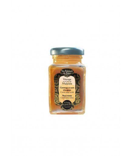 Exfoliante facial-azúcar - aceite de zanahoria Bio - La Sultane de Saba