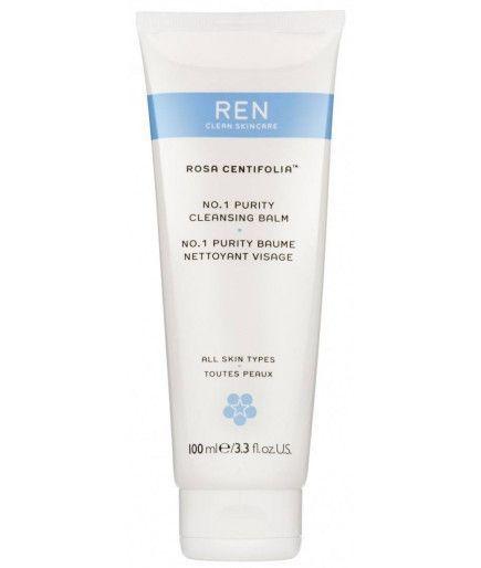 NO.1 la Pureza Bálsamo Limpiador de la Cara - Rosa Centifolia™ - REN de Cuidado de la piel
