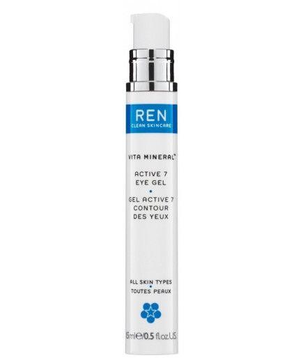 Gel Activo 7 Contorno de Ojos - Vita Mineral™ - REN de Cuidado de la piel