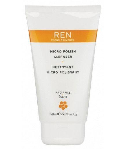 Limpiador de Micro-Pulido - Brillo - REN de Cuidado de la piel