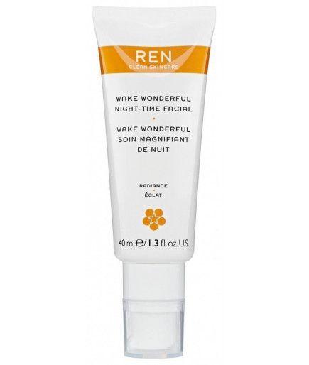 Estela Maravillosa Atención de Aumento de Noche Resplandor - REN de Cuidado de la piel