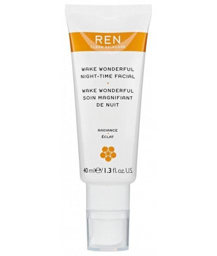 Wake Wonderful Pflege groß machen, Nacht -, Glanz - REN Skincare