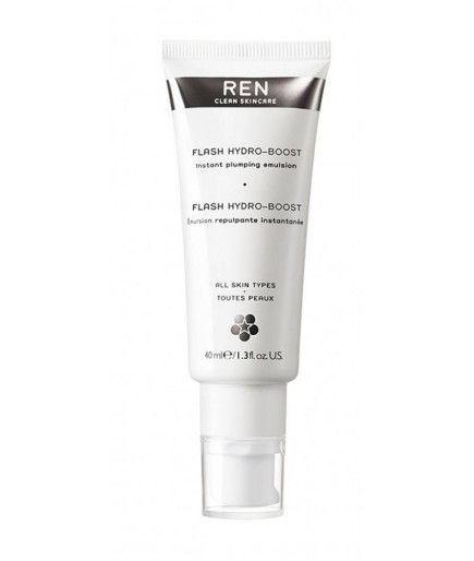 Flash Hydro Boost Emulsión Repeuplante Instantáneo de Belleza de Refuerzo - REN de Cuidado de la piel