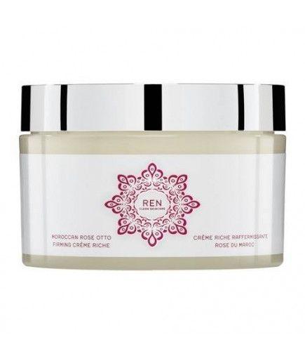 Rica crema reafirmante - Marroquí Rose - REN de Cuidado de la piel