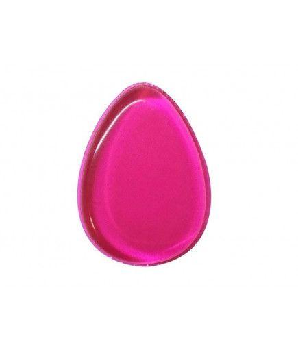 Esponja De Maquillaje De Silicona - Gota-De Color Rosa - Silibeauty