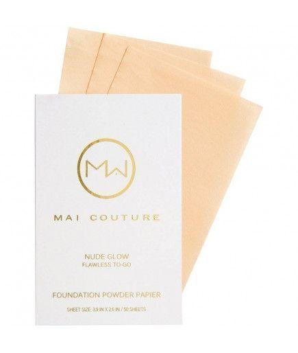 Fundación de polvo de papier - Nude Glow - Mai Couture