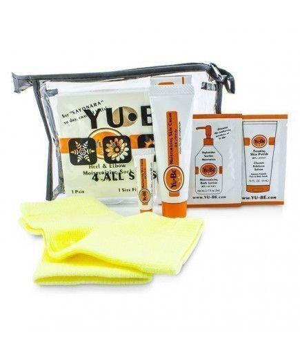 Kit de Reparación Intensa Talones y codos - 1 par de calcetines y una crema hidratante en un tubo - YuBe