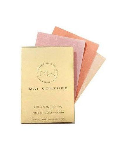 Pack Trío de Papel de Maquillaje - Como un Diamante - Mai Couture