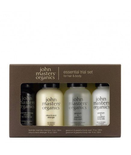 Kit de prueba - Cuerpo y Cabello de John Masters Organics