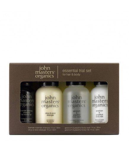Kit per il Test - Corpo e Capelli - John Masters Organics