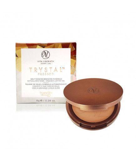 Selbstbräuner Trystal Pressed - Self Tan Bronzing Minerals - Sunkissed - Vita Liberata