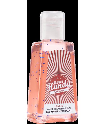 Gel mains nettoyant - Lollipop - Merci Handy