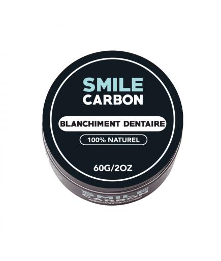 Aktivkohle - Weißkocher der natürlichen zähne - Smile-Carbon