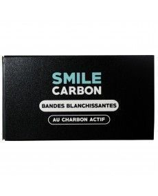 Strisce sbiancanti attivo del carbonio – 14 bustine – SORRISO di Carbonio