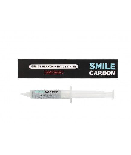 El Blanqueamiento Dental, Gel - 10ml de Recarga-Sabor a Fresa - la SONRISA de Carbono