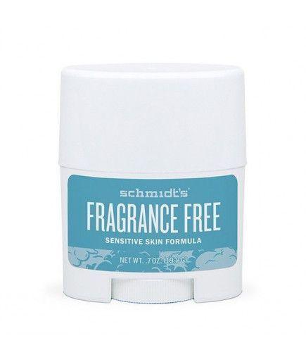 Déodorant Naturel sans parfum - Sensitive Fragrance Free - Schmidt's