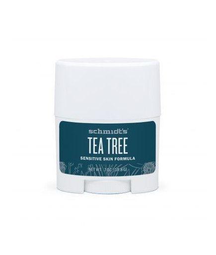 Déodorant Naturel Peaux Sensibles à l'arbre à thé - Sensitive Tea Tree - Schmidt's