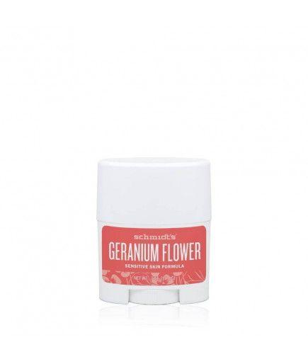 Déodorant Naturel au Géranium - Sensitive Geranium - Schmidt's