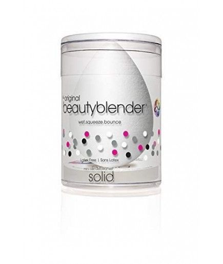Kit Spugna Trucco Teint Pure + Detergente Solido Di Piccole Dimensioni Blender Detergente - Beauty Blender